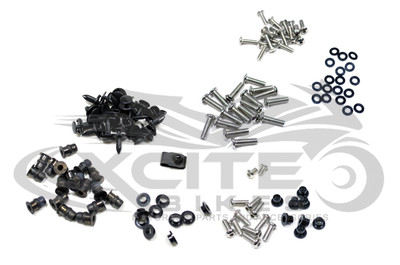 Fairing bolts kit, stainless steel, Honda CBR1000RR 2004 - 2005 BT114