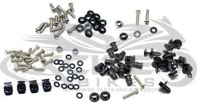 Fairing bolts kit, stainless steel, Honda CBR600F4 F4i 1999-2007 BT119