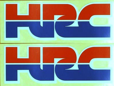 Genuine Honda OEM HRC stickers, CBR, RVF, VFR, Grom p/n 87124-KPP-940ZA