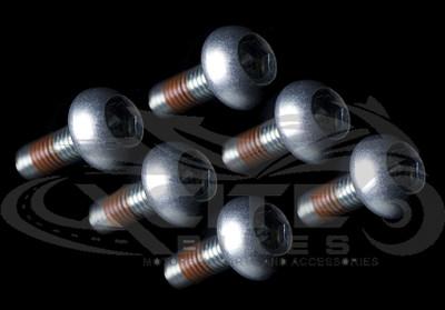 6 x Genuine Honda front rotor bolts CBR MC18 MC21 MC22 MC28 NC30 NC35 90106-KGH-600