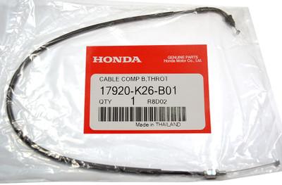 OEM MSX125SF Grom throttle cables 17910-K26-B01 + 17920-K26-B01