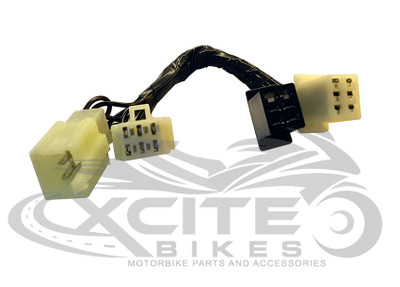 Adaptor for CBR250RR MC22 LHS switch block / winker switch, to convert Australian delivered model (1997-1999) to Japanese delivered model (1990 to 1996)