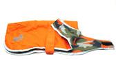 Nor'easter Dog Blanket Coat - Orange - X-Large