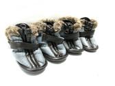 Petrageous Cheyenne Dog Boots X-small Gray