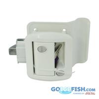 White RV Door Lock / Handle