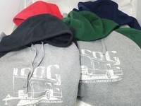 ICOG Logo Sport Tex Pullover Hooded Sweatshirt