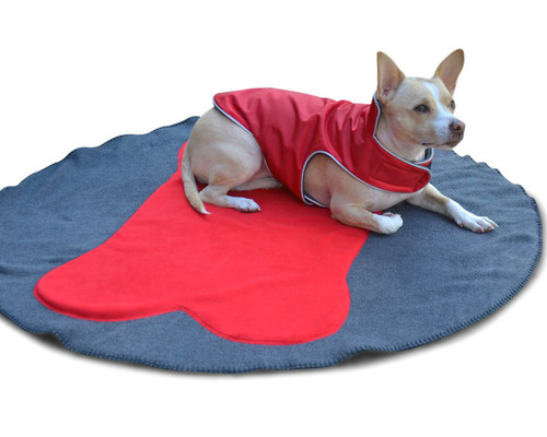 Highest Quality Fleece Dog Blanket