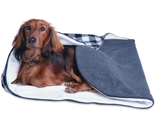 Double Thick Fleece Dog Bed