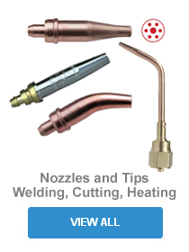 Welding, Cutting, Heating Nozzles and Tips
