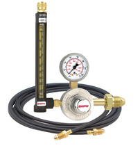 Smith Regulator Flowmeter Argon-CO2 CGA 580 6 Ft Hose, 32-80-580-6