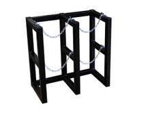 6531-2 Two Cylinder Storage Rack