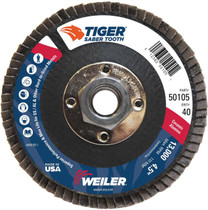 Weiler Saber Tooth Flap Disc