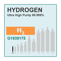 Hydrogen, Pure Gas, 99.999%, 56L