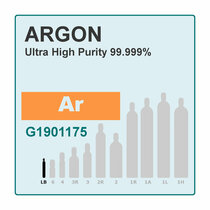 Argon, Pure Gas, 99.999%, 56L