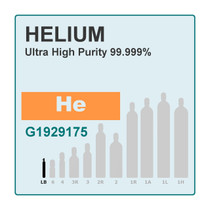 Helium, Pure Gas, 99.999%, 56L