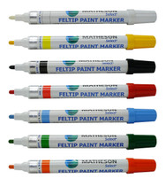 Variety of felt tip marker colors