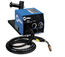 Miller 22A wire feeder w/Digital Meters, Voltage Control, BTB 300A Gun - 951192