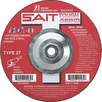 UAI Grinding Wheel 4-1/2x1/4x5/8-11 TY27 Metal  - 20165