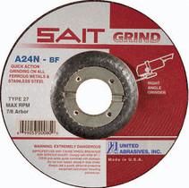 UAI Grinding Wheel 5x1/4x7/8 TY27 Metal  - 20070