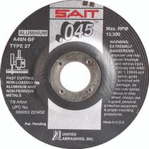 UAI Cutting Wheel 4-1/2x.045x7/8 TY27 Metal - 22345