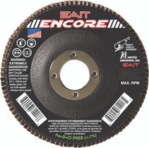 UAI Flap Disc 4-1/2x7/8 80G TY27 Encore - 71209