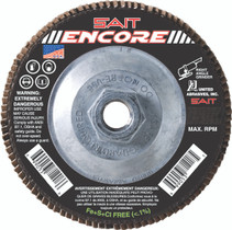 UAI Flap Disc 4-1/2x5/8-11 60G TY27 Encore - 71218
