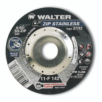 Walter Cutoff Wheel 4-1/2x3/64x7/8 TY 1 Zip Stainless™ -  11F142