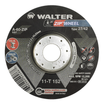 Walter Cutoff Wheel 5x3/64x7/8 TY 27 Zip™ Wheel -  11T152