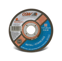 CGW Cutoff Wheel 4-1/2x.045x7/8 T27 ZA60--S-BF Quickie - 45002