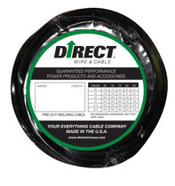 Direct Wire #1 100' Black Flex-a-Prene FP0291