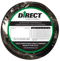 Direct Wire #2 25' Black Flex-a-Prene FP0587