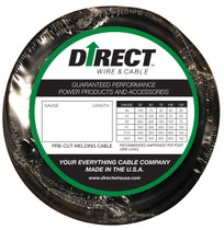 Direct Wire #2 30' Black Flex-a-Prene FP0627