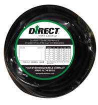 Direct Wire #2 100' Black Flex-a-Prene FP0743