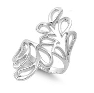 Dreamily Abstract Art Ring Sterling Silver 925