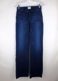 HUDSON BALBOA Mid Rise Slim Wide Leg Jeans 24