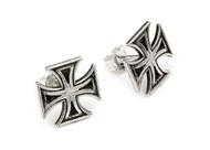 Iron Cross Stud Earrings