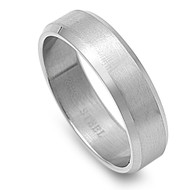 Classic Knife Edge Ring Stainless Steel