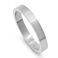 Plain 4MM Band Ring Stainless Steel