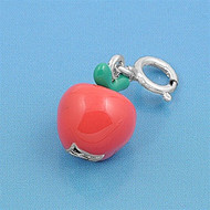 Apple Add On Charm Sterling Silver 16MM