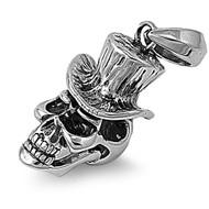 Skull Pendant Stainles Steel 31MM