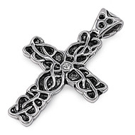Cross Pendant Stainles Steel 41MM
