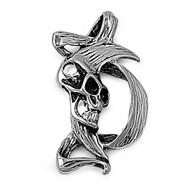 Skull Pendant Stainles Steel 44MM