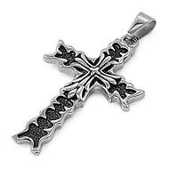 Cross Pendant Stainles Steel 46MM