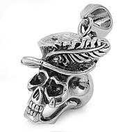 Skull Pendant Stainles Steel 38MM