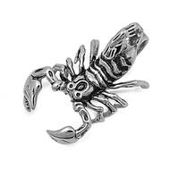 Scorpion Pendant Stainles Steel 40MM