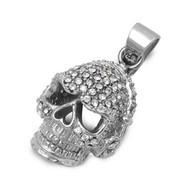 Skull Pendant Stainles Steel 20MM