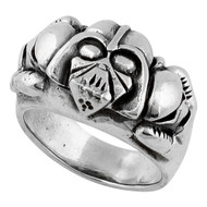 Dark Side of the Force Darth Vader Skull Ring Sterling Silver 925