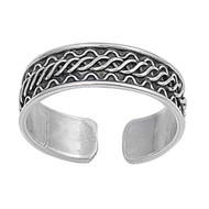 Bali Knuckle/Toe 5MM Ring Sterling Silver