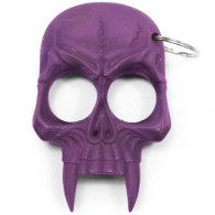 Purple Skull Key Chain