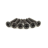 Black Oxide Oval Head Machine Screw (Stratocaster)
